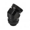 PHANTEKS Rotary merev cső adapter 12mm G1/4 45 fokos - fekete /PH-RA45_BK12/