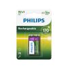 Philips 9VB1A17/10 - tölthető elem MULTILIFE NiMH/9V/170 mAh