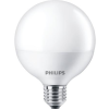 "Philips LED izzó, E27, gömb, 9,5W, 806lm, 2700K, G93, PHILIPS ""CorePro"""