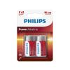 Philips LR14P2B/10 - 2 db alkáli elem C POWER ALKALINE 1,5V