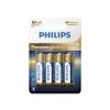 Philips LR6M4B/10 - 4 db alkáli elem AA PREMIUM ALKALINE 1,5V