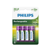Philips R6B4B260/10 - 4 db tölthető elem AA MULTILIFE NiMH/1,2V/2600 mAh