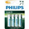 Philips R6L4B/10 AA CINK-SZÉN longlife