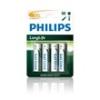 Philips R6L4B/10 AA CINK-SZÉN LongLife elem
