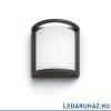 Philips Samondra kültéri falra szerelhető LED lámpa, antracit, 1 x 12W, 1200 lm, 2700K melegfehér, 1739193P0