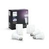 Philips Szett , Philips Hue , indulókészlet (3 x E27 10 W + bridge + dimmer) , RGB , CCT , dimmelhető