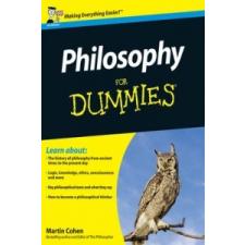 Philosophy For Dummies – Martin Cohen idegen nyelvű könyv