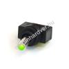 Phobya kétállású kapcsoló - zöld LED - unipoláris ON/OFF (3pin)