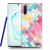 Picasee Átlátszó szilikon tok az alábbi mobiltelefonokra Samsung Galaxy Note10 N970F - Colorful roof