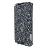 Piel Frama Samsung Galaxy S6 Edge Plus Framaslim eredeti tüskésrája bőr tok, fekete