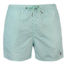 Pierre Cardin férfi fürdőnadrág - Pierre Cardin Geo Swim Shorts Mens MintWhite