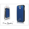 Pierre Cardin Samsung i9500 Galaxy S4 alumínium hátlap - blue