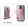 Pierre Cardin Samsung SM-G900 Galaxy S5 alumínium hátlap - pink