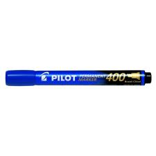 "Pilot Alkoholos marker, 1,5-4 mm, vágott, PILOT ""Permanent Marker 400"", kék filctoll, marker"