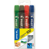 "Pilot Alkoholos marker, 1 mm, kúpos, PILOT ""Permanent Marker 100"", 4 szín"