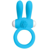 Pipedream - Neon Luv Touch NEON RABBIT RING - BLUE Péniszgyűrű