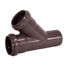 PIPELIFE KAEA PVC lefolyóág 45°, 110/63mm hűtés, fűtés szerelvény
