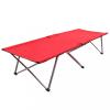 Piros XXL kempingágy 206 x 75 x 45 cm