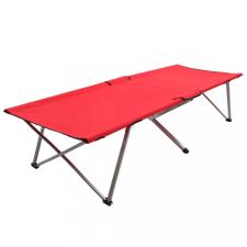 Piros XXL kempingágy 206 x 75 x 45 cm kemping felszerelés