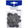 Playbox : Mágnes korong, 24 darab ,15 és 24 mm