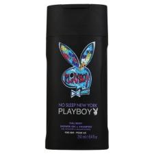 Playboy New York férfi tusfürdő és sampon 250 ml tusfürdők