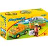 Playmobil 1.2.3 Állatkerti autó orrszarvúval 70182
