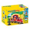 Playmobil 1.2.3 Hordozható vonatállomás 6783