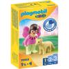 Playmobil 1.2.3 tündér és róka 70403