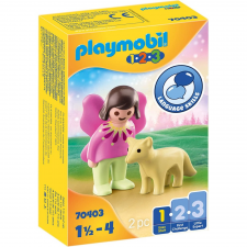 Playmobil 1.2.3 tündér és róka 70403 playmobil