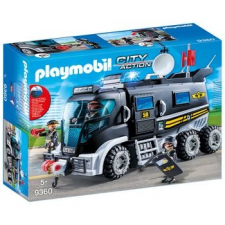 Playmobil City Action Speciális Egység kamionja 9360 playmobil