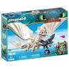 Playmobil Dragons Fényfúria bébisárkánnyal és gyerekekkel 70038