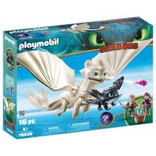 Playmobil Dragons Fényfúria bébisárkánnyal és gyerekekkel 70038 playmobil