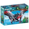 Playmobil Dragons Halálfogó és Morgol 70039