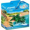 Playmobil Family Fun Aligátor kicsinyeivel 70358