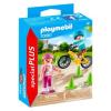 Playmobil Special Plus Gyerekek biciklivel és görkorcsolyával 70061