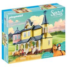 Playmobil Spirit 9475 Lucky boldog otthona playmobil