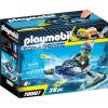 Playmobil Top Agents 70007 A Team S.H.A.R.K. Rakétavető Jet ski-je