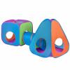 PlayTo Gyermek sátor 3az1-ben PlayTo 3 db narancs-kék