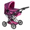 PlayTo Multifunkciós kocsi babáknak PlayTo Elsa rózsaszín-fekete