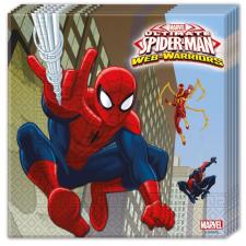 Pókember , Spiderman szalvéta 20 db-os party kellék