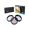 Polaroid szûrõszett (UV, CPL, FLD) + 4 db-os szûrõtok 62 mm
