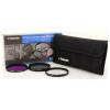 Polaroid szűrőszett (UV, CPL, FLD) + 4 db-os szűrőtok 72 mm (P-PL3FIL72)