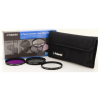 Polaroid szűrőszett (UV, CPL, FLD) + 4 db-os szűrőtok 82 mm (P-PL3FIL82)