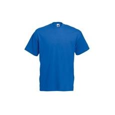 póló kék kereknyakú 100% pamut (M)