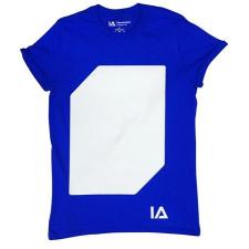 """. Póló, S méret, sötétben világít, """"Illuminated Apparel"""", kék gyerek póló"""