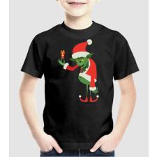 Pólómánia Grinch - Uniszex gyerek Póló gyerek póló