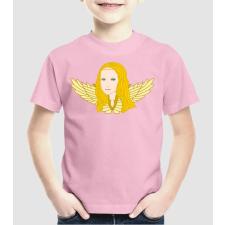 Pólómánia Lisa angyal szőke - Uniszex gyerek Póló gyerek póló