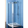 Polysan Easy Line íves zuhanykabin 90x90 cm, transzparent üveg