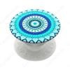 Popsockets telefontartó, Blue Floral Mandala
