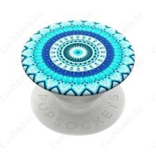 Popsockets telefontartó, Blue Floral Mandala mobiltelefon kellék